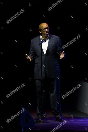 Prince Seeiso of Lesotho speaks at the Sentebale Audi Concert at Hampton Court Palace in London, Britain, 11 June 2019. The concert will raise awareness and funds for Sentebale, the charity founded by The Duke of Sussex and Prince Seeiso, to support children and young people affected by HIV and AIDS in Lesotho, Botswana and Malawi, countries where HIV remains a leading cause of death.