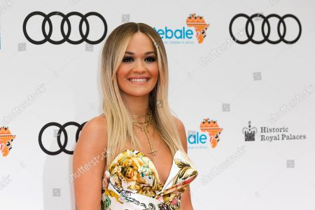 Rita Ora attends the Sentebale Audi Concert at Hampton Court Palace in London, Britain, 11 June 2019. The concert aims to raise awareness and funds for Sentebale, a charity founded by Prince Harry and Prince Seeiso of Lesotho, to support children and young people affected by HIV and AIDS in Lesotho, Botswana and Malawi, countries where HIV remains a leading cause of death.
