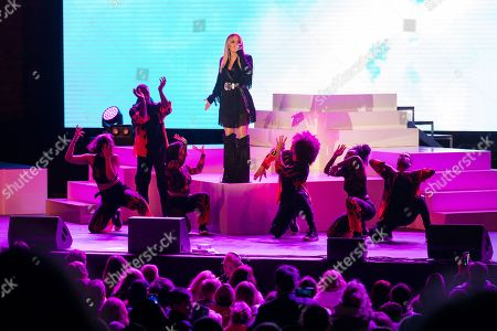 Rita Ora performs at the Sentebale Audi Concert at Hampton Court Palace in London, Britain, 11 June 2019. The concert will raise awareness and funds for Sentebale, the charity founded by Prince Harry and Prince Seeiso, to support children and young people affected by HIV and AIDS in Lesotho, Botswana and Malawi; countries where HIV remains a leading cause of death.