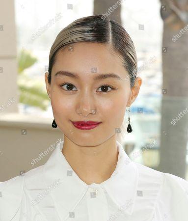 "Shioli Kutsuna attends the ""Murder Mystery"" photo call at the Ritz-Carlton Marina del Rey, in Los Angeles"