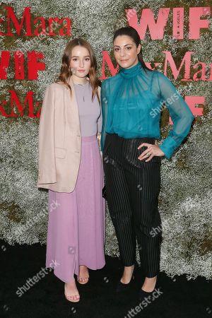 Kaitlyn Dever and Maria Giulia Maramotti