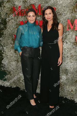Maria Giulia Maramotti and Minnie Driver