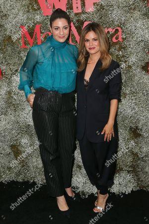 Maria Giulia Maramotti and Rachel Bilson