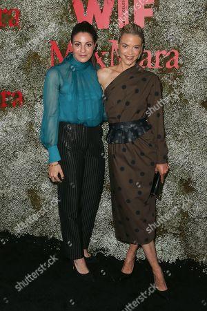 Maria Giulia Maramotti and Jaime King