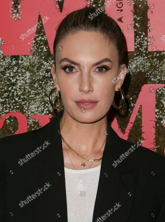 Editorial photo of MaxMara Women in Film Event, Arrivals, Chateau Marmont, Los Angeles, USA - 11 Jun 2019