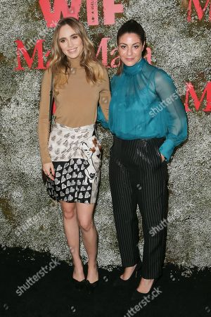 Suki Waterhouse and Maria Giulia Maramotti