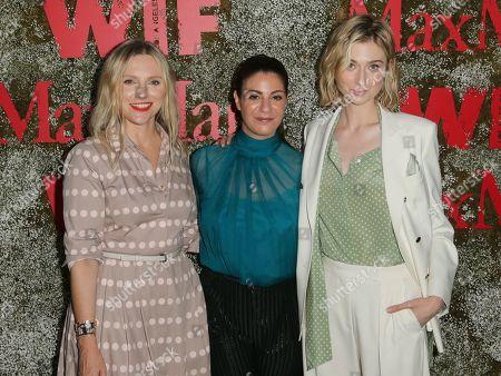 Laura Brown, Maria Giulia Maramotti and Elizabeth Debicki