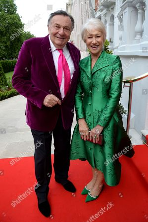 Stock Photo of Barry Humphries and Helen Mirren