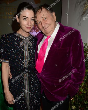 Stock Picture of Mary McCartney and Barry Humphries
