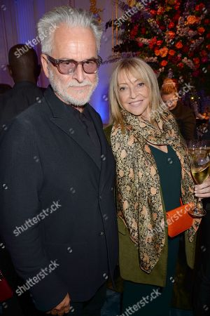 Stock Picture of Trevor Eve and Sharon Maughan