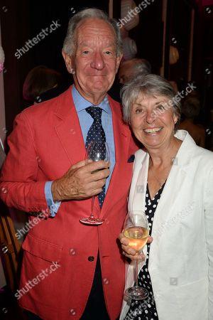 Michael Buerk and wife Christine Buerk