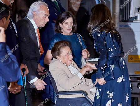 Duke of Soria, Duchess of Soria de Borbon and Queen Letizia