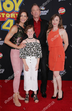 Tim Allen and family