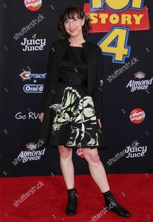 Editorial image of 'Toy Story 4' film premiere, Arrivals, El Capitan Theatre, Los Angeles, USA - 11 Jun 2019