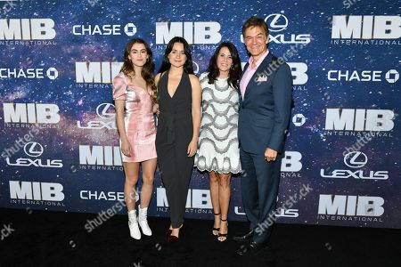 Dr Mehmet Oz and family
