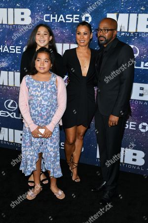 Inny Clemons and family