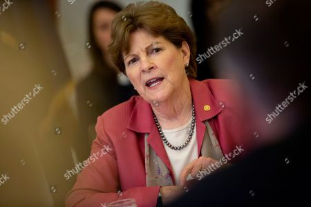 United States Senator Jeanne Shaheen (Democrat of New Hampshire) attends a Women, Peace, and Security Roundtable with the U.S. Foreign Relations Committee at the U.S. Capitol