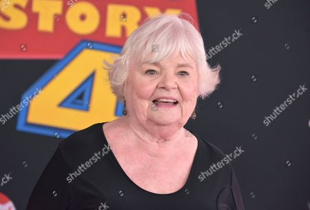 "June Squibb arrives at the world premiere of ""Toy Story 4"", at the El Capitan in Los Angeles"