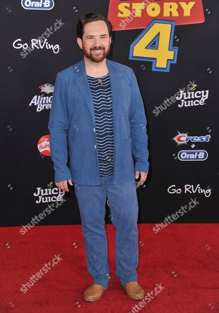 """Stock Image of John Morris arrives at the world premiere of """"Toy Story 4"""", at the El Capitan in Los Angeles"""
