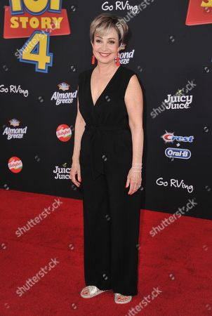 """Annie Potts arrives at the world premiere of """"Toy Story 4"""", at the El Capitan in Los Angeles"""