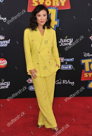 """Ally Maki arrives at the world premiere of """"Toy Story 4"""", at the El Capitan in Los Angeles"""
