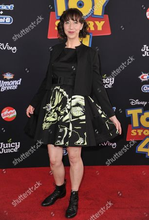 """Kristen Schaal arrives at the world premiere of """"Toy Story 4"""", at the El Capitan in Los Angeles"""