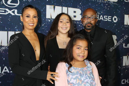 Stock Photo of Inny Clemons with Family