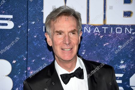 """Science television personality Bill Nye attends the world premiere of """"Men in Black: International"""" at the AMC Loews Lincoln Square, in New York. Photo by Evan Agostini/Invision/AP"""