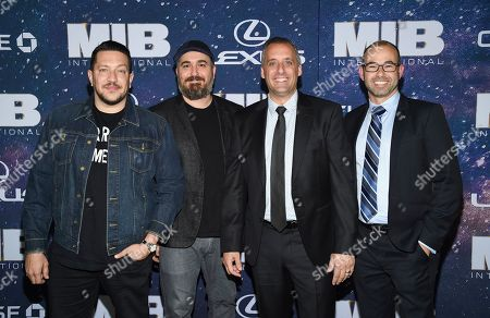 "Sal Vulcano, Brian Quinn, Joe Gatto, James Murray. Impractical Jokers"" Sal Vulcano, Brian Quinn, Joe Gatto and James Murray attend the world premiere of ""Men in Black: International"" at the AMC Loews Lincoln Square, in New York. Photo by Evan Agostini/Invision/AP"
