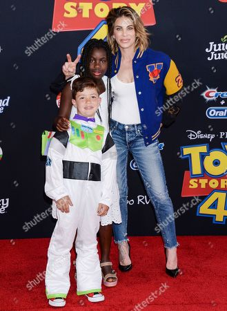 Jillian Michaels and family