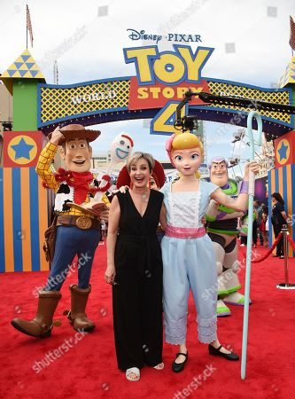 """Editorial image of LA Premiere of """"Toy Story 4"""" - Red Carpet, Los Angeles, USA - 11 Jun 2019"""