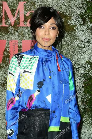 Tamara Taylor attends the 2019 InStyle Max Mara Women In Film Celebration at the Chateau Marmont, in Los Angeles