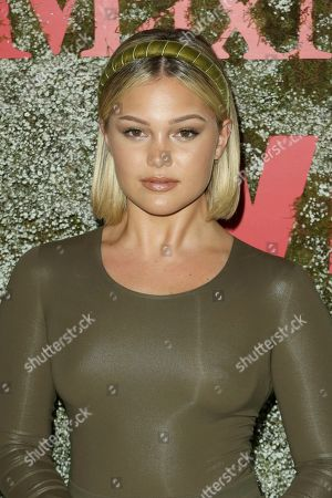 Olivia Holt attends the 2019 InStyle Max Mara Women In Film Celebration at the Chateau Marmont, in Los Angeles