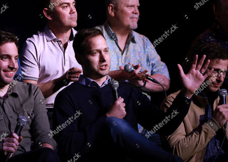 Stock Picture of Dan Goor speaks at the Brooklyn Nine-Nine FYC Event at theUCB Sunset on in Los Angeles