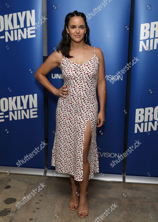 Melissa Fumero attends the Brooklyn Nine-Nine FYC Event at the UCB Sunset on in Los Angeles