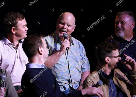 Stock Image of Dirk Blocker speaks at the Brooklyn Nine-Nine FYC Event at theUCB Sunset on in Los Angeles