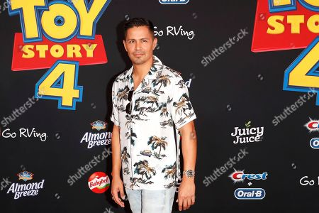 Jay Hernandez arrives for the world premiere of 'Toy Story 4' at the El Capitan Theatre in Hollywood, Los Angeles, California, USA, 11 June 2019. The movie opens in the USA on 21 June 2019.