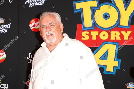 Stock Picture of John Ratzenberger arrives for the world premiere of 'Toy Story 4' at the El Capitan Theatre in Hollywood, Los Angeles, California, USA, 11 June 2019. The movie opens in the USA on 21 June 2019.
