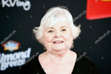 Stock Photo of June Squibb arrives for the world premiere of 'Toy Story 4' at the El Capitan Theatre in Hollywood, Los Angeles, California, USA, 11 June 2019. The movie opens in the USA on 21 June 2019.