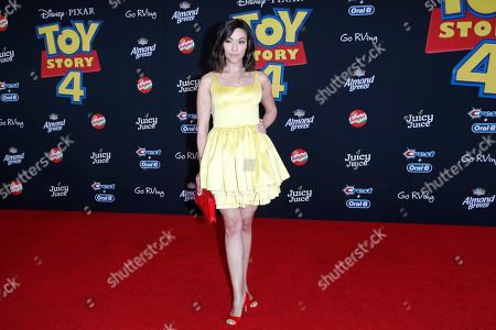 Juliana Hansen arrives for the world premiere of 'Toy Story 4' at the El Capitan Theatre in Hollywood, Los Angeles, California, USA, 11 June 2019. The movie opens in the USA on 21 June 2019.