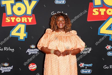 Retta arrives for the world premiere of 'Toy Story 4' at the El Capitan Theatre in Hollywood, Los Angeles, California, USA, 11 June 2019. The movie opens in the USA on 21 June 2019.