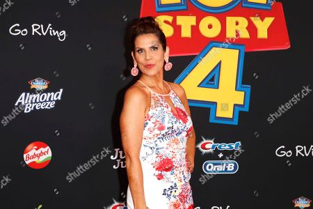 """Lori Alan arrives for the world premiere of """"Toy Story 4"""" at the El Capitan Theatre in Hollywood, Los Angeles, California, USA 11 June 2019. The movie opens in the US 21 June 2019."""