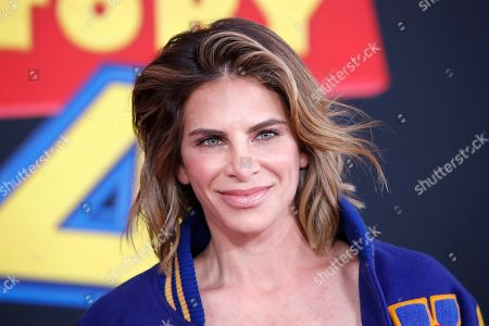 """US personal trainer, businesswoman, author and television personality Jillian Michaels arrives for the world premiere of """"Toy Story 4"""" at the El Capitan Theatre in Hollywood, Los Angeles, California, USA 11 June 2019. The movie opens in the US 21 June 2019."""