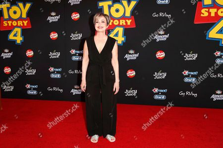 Annie Potts arrives for the world premiere of 'Toy Story 4' at the El Capitan Theatre in Hollywood, Los Angeles, California, USA, 11 June 2019. The movie opens in the USA on 21 June 2019.