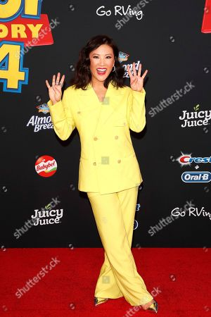 Ally Maki arrives for the world premiere of 'Toy Story 4' at the El Capitan Theatre in Hollywood, Los Angeles, California, USA, 11 June 2019. The movie opens in the USA on 21 June 2019.