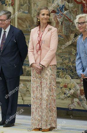 Princess Elena attends Children's Painting Awards, Madrid