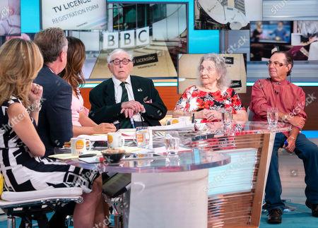 Victor Gregg, Maureen Sales and Geoffrey Winer