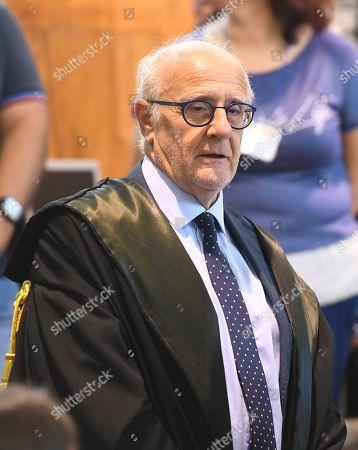 Public prosecutor Gigi D'Alessio