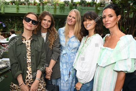 Kelly Eastwood, Lucy Hough, Petro Stofberg, Jasmine Hemsley and Hedvig Sagfjord Opshaug