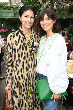 Caroline Issa and Jasmine Hemsley